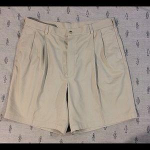 Other - Jos A Banks men's size 40 khaki cotton shorts.